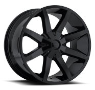 KMC - KM651  SLIDE-gloss black with clearcoat