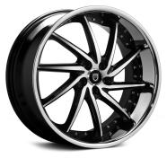 LEXANI - 659 - ARTEMIS-gloss black mach & chrome lip