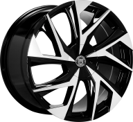 LEXANI - 670 - GHOST-gloss black mach face