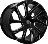 LEXANI - 670 - GHOST-black & milled