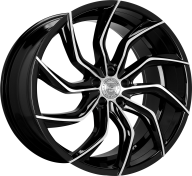 LEXANI - 669 - MATISSE-gloss black & mach spoke