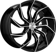 LEXANI - 669 - MATISSE-gloss black & mach spoke