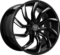 LEXANI - 669 - MATISSE-gloss black & mach tip