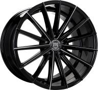 LEXANI - 661 - PEGASUS-gloss black & milled