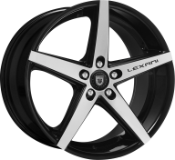 LEXANI - R-FOUR-gloss black mach face