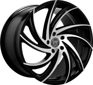 LEXANI - 673 - TWISTER-gloss black mach