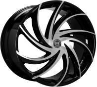 LEXANI - 673 - TWISTER / CAP-gloss black mach