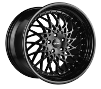 VERTINI WHEELS - HELLFIRE-matte black