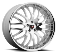 MERCELI - M11 - CHROME LIP-silver machined
