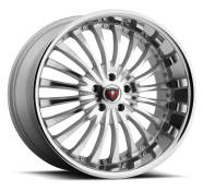 MERCELI - M20 - CHROME LIP-silver machined