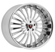 MERCELI - M20 - CHROME LIP-white machined