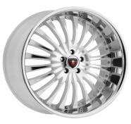 MERCELI - M20 - CHROME LIP-white machined
