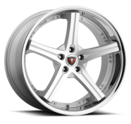 MERCELI - M41 - CHROME LIP-silver machined