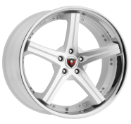 MERCELI - M41 - CHROME LIP-white machined