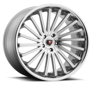 MERCELI - M46 - CHROME LIP-silver machined