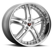 MERCELI - M6 - CHROME LIP-silver machined