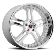 MERCELI - M6 - CHROME LIP-white machined