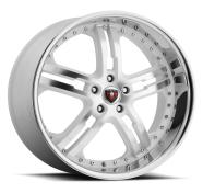 MERCELI - M6 - CHROME LIP-white machined