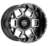 MOTO METAL - MO981-gloss black machined