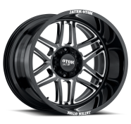 MOTO METAL - MO992 FOLSOM-gloss black milled