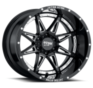 MOTO METAL - MO993 HYDRA-gloss black milled