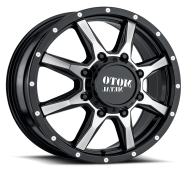 MOTO METAL - MO995-gloss black machined
