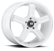 MOTEGI - MR122-white w/ machined stripe