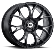 MOTEGI - MR126-gloss black with milled accents