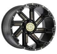 MOTO METAL - MO979-satin black with gun metal inserts