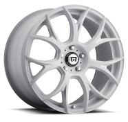 MOTEGI - MR126-matte white with milled accents