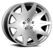 MRR DESIGN - HR3-silver machined face