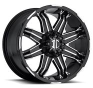 XTREME - NX-7-gloss black machined face