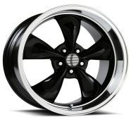 OE CREATIONS - PR106-gloss black machined lip