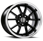 OE CREATIONS - PR118-gloss black machined lip
