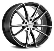 PETROL - P0A-gloss black machined