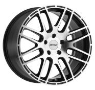 PETROL - P6A-gloss black machined