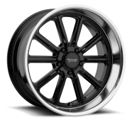 AMERICAN RACING - VN507 RODDER-gloss black with diamond cut lip
