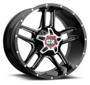 XD SERIES - XD839 CLAMP-gloss black milled