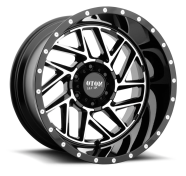 MOTO METAL - MO985 BREAKOUT-gloss black machined