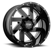 MOTO METAL - MO988 MELEE-gloss black milled