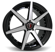 CURVA - C47-black & machined