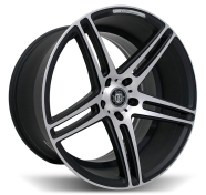 CURVA - C5-matte black machined