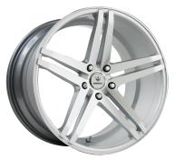 VERDE - PARALLAX-matte silver machined