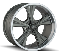 RIDLER - 651-grey machined lip