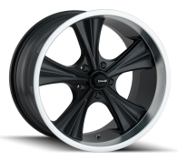 RIDLER - 651-matte black machined lip