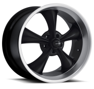 RIDLER - 695-matte black machined lip