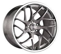 VERTINI WHEELS - RF1.4-brush titanium chrome lip