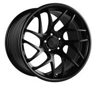 VERTINI WHEELS - RF1.4-matte black face gloss black lip