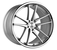 VERTINI WHEELS - RF1.5-silver machined chrome lip