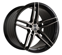 VERTINI WHEELS - RF1.6-gloss black tinted face